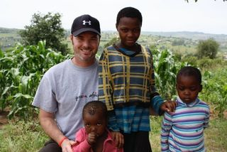 Tom and Kids in Swaziland