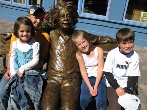 The kids and Einstein